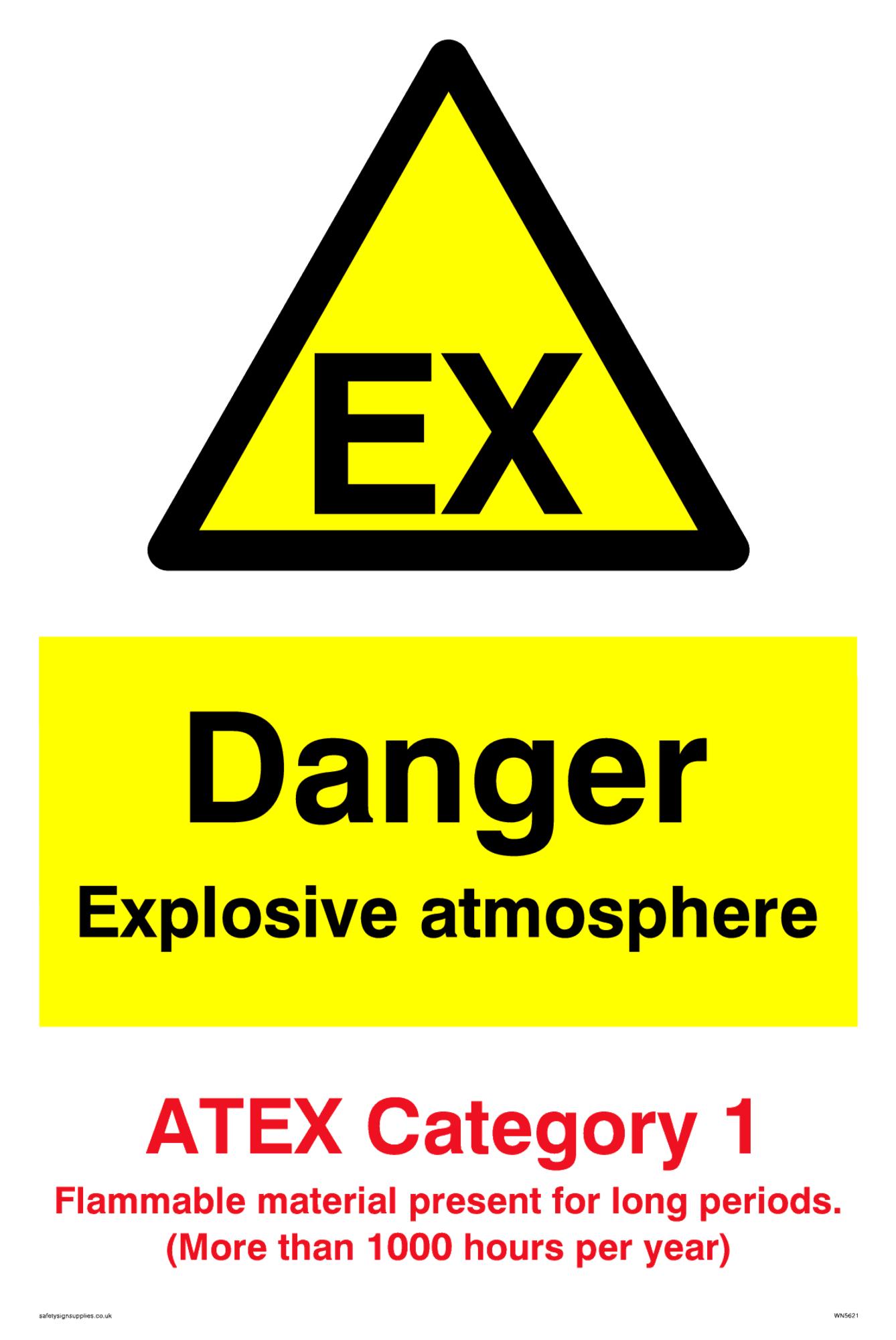 Explosive material Warning sign Hazard Warning label
