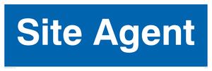site agent - door sign