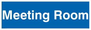 meeting room - door sign
