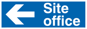 site office - sign