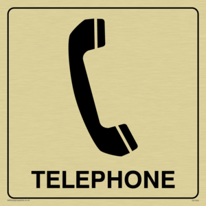 telephone sign