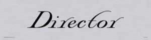 director - door sign