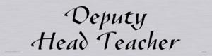 deputy head teacher - door sign