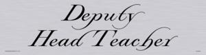 deputy head teach - door sign