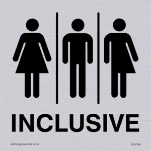 Gender Neutral Inclusive Toilet