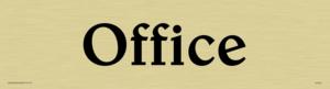 office - door sign