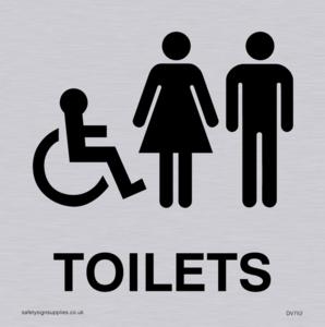 toilets - door sign