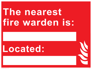 Fire Warden Information