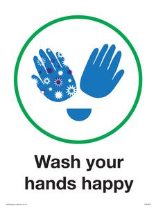 Wash your happy hands