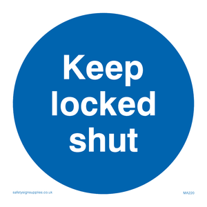 keep locked shut