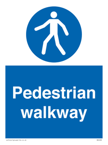 Pedestrian walkway