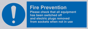 Fire prevention measures