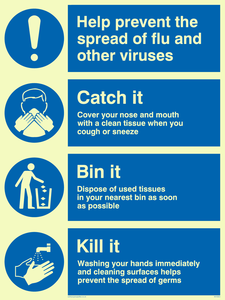Help prevent the spread of flu