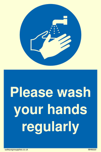 Please wash your hands regularly
