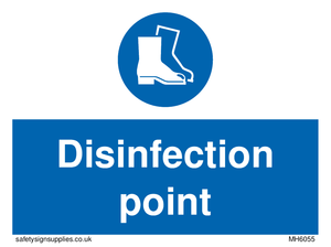 Disinfection point