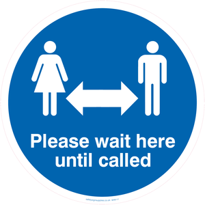 please wait here to be called
