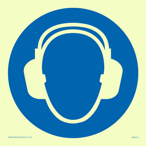ear protection symbol only