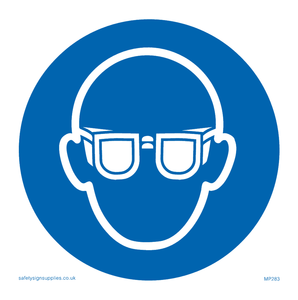eye protection symbol only