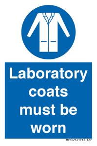 Laboratory coats must been worn