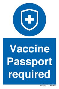 Vaccine Passport required