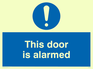 this door is alarmed