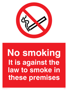 no smoking against the law
