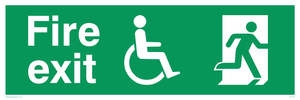Disability Fire Exit