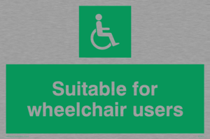 suitable for wheelchair users