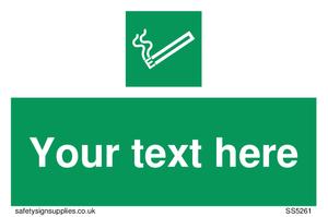Custom E-Cigarettes/Vaping Permited Sign