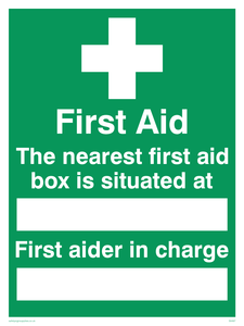 first aid the nearest first
