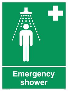 emergency shower