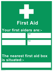 First Aiders Information