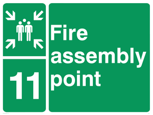 Fire Assembly Point 11