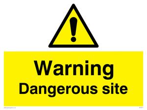 Warning Dangerous site