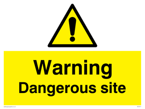 Warning Dangerous site