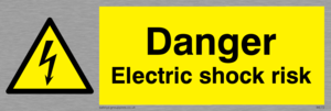 danger electric shock risk