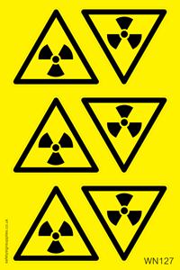 Radiation Warning Sheet