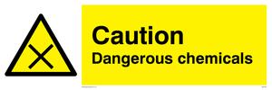 Warning Dangerous chemicals