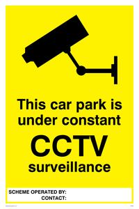 Carpark under constant CCTV