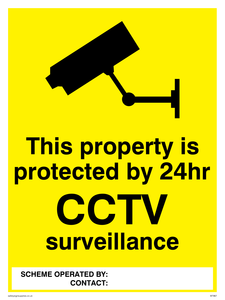 Property protected by 24hr CCTV