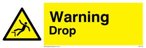 danger drop