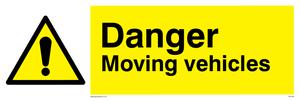 danger moving vehicles