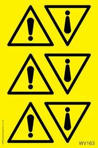 Warning Symbol Sheet