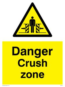Danger Crush Zone