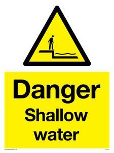 Danger Shallow water