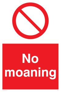 No Moaning