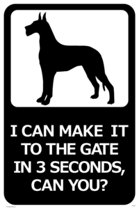 3 Seconds sign