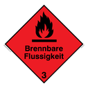 <p>German Flammable liquid </p> Text: