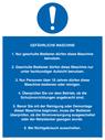 <p>German Dangerous Machine instructions</p> Text: