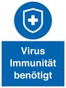 <p>Virus Immunität benötigt</p> Text: